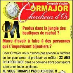 Bijoux et accessoires Achat or Perpignan ORMAJOR - 1 -
