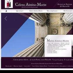 Colette Aimino Morin Marseille
