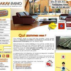 Diagnostic immobilier Akay-immo - 1 -