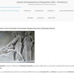 Camard Alexandre Ostéopathe étiopathe Caen
