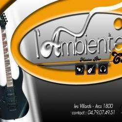 Ambiente Cafe Concerts Bourg Saint Maurice