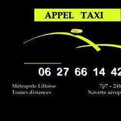 Appel Taxi Villeneuve D'ascq