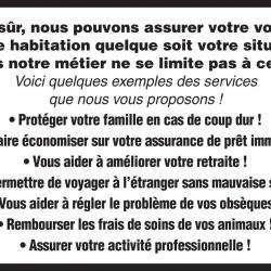 Assurance GENERALI Diéval Dominique Agent général - 1 -