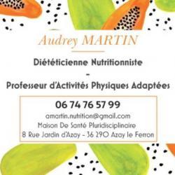 Audrey Martin Azay Le Ferron