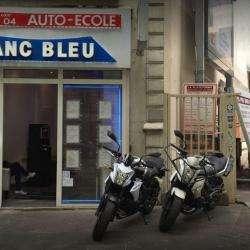 Auto Ecole Blanc Bleu Paris