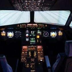 Parcs et Activités de loisirs AviaSim - 1 - L'intérieur Du Simulateur -