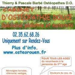 Ostéopathe Barbé Thierry et Pascale Ostéopathes DO - 1 -