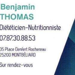 Benjamin Thomas Montbéliard
