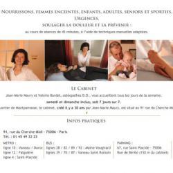 Cabinet D'ostéopathie Maury-bardet Paris