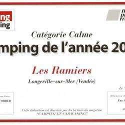 Camping Les Ramiers - 2 étoiles Longeville Sur Mer