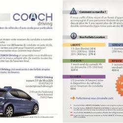 Coach Driving Paris