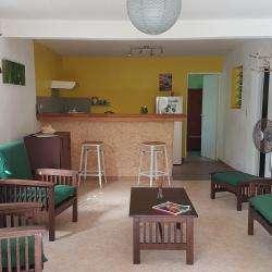 Hôtel et autre hébergement COULEURS ANTILLES  - 1 - Salon Gite Anolis -