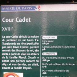 Cour Cadet