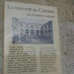 Couvent De  Carmes La Rochelle