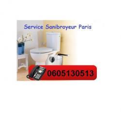 Sanibroyeur  Bouché Plombier Paris