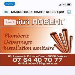 Dimitri Robert Plomberie Marcenais