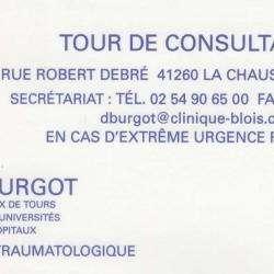 Docteur Burgot La Chaussée Saint Victor