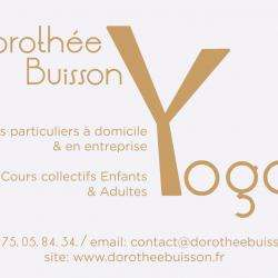Activité pour enfant Dorothée Buisson - 1 - Dorothée Buisson Yoga  -