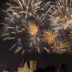 Evènement Feux d'artifice de Carcassonne - 1 -