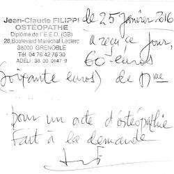 Filippi Jean-claude Grenoble