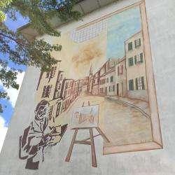 Fresque Murale Hommage à Utrillo