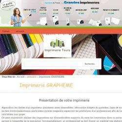 Grapheme Imprimerie Tours