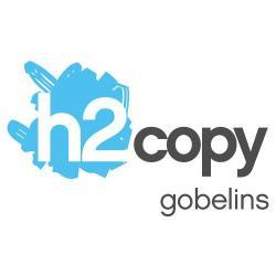 Photocopies, impressions h2copy Gobelins - 1 - Logo H2copy Gobelins, Imprimerie à Paris. -
