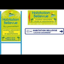 Habitation Bellevue - Locations Appartements De Vacances