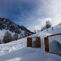 Igloos Du Montenvers Mer De Glace Chamonix Mont Blanc