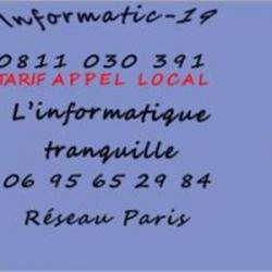 Cours et dépannage informatique Informatic- 19 - Réseaux Paris - 1 -
