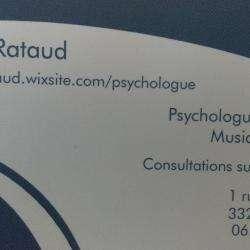 Psy Juliette RATAUD - 1 - Carte De Visite -