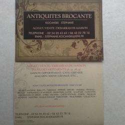 Antiquité et collection kocanski - 1 - Achat / Vente / Debarras De Maison  Kocanski Stephane -