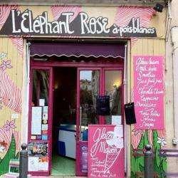 L'eléphant Rose A Pois Blancs Marseille