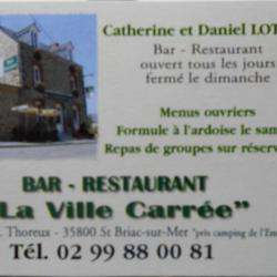 Restaurant La Ville Carree Saint Briac Sur Mer