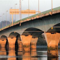 Le Pont François Mittérand Bègles