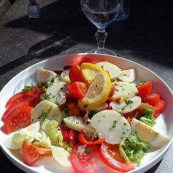 Restaurant le san remo - 1 - Salade Piémont -