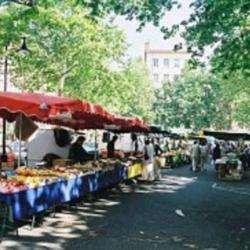 Marché De La Croix-rousse Lyon