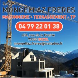 Mongellaz Frères Maçonnerie Sarl Bozel
