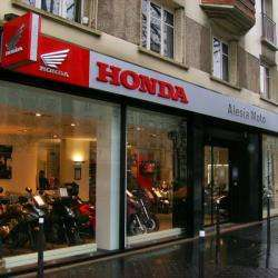 Moto Honda Alésia Paris
