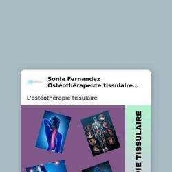 Ostéothérapeute Tissulaire Montbazin Fernandez Sonia