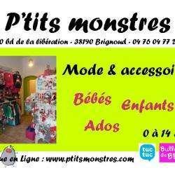 Vêtements Enfant P'tits monstres - 1 -
