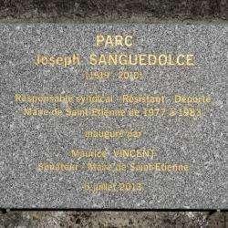 Parc Joseph Sanguedolce  Saint Etienne