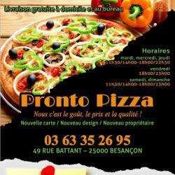 Pizza Pronto Besançon