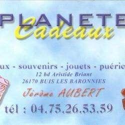 Jeux et Jouets Planete Cadeaux - 1 - Carte De Visite -