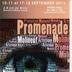 Evènement Promenade Artistique de Molineuf - 1 -