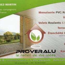 Menuisier et Ebéniste PROVERALU - 1 - Carte De Visite -