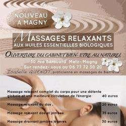 Massage Quenot Isabelle - 1 - Massages De Bien-être -