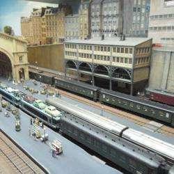 Réseaux Miniatures De La Gare De L'est Paris