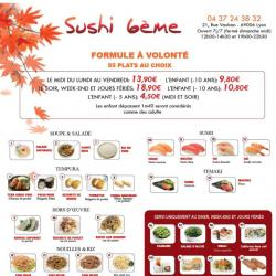 Sushi 6ème Lyon