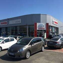 Garagiste et centre auto Toyota - STA 45 Orléans - Fleury-les-Aubrais    - 1 -